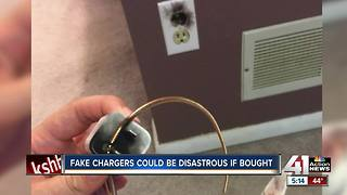 Fake iPhone chargers could be disastrous, burn up while charging - Video