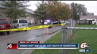 Woman found shot dead in a vehicle on Indianapolis' south side - Video