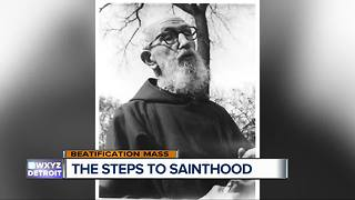 The steps to sainthood - Video