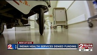 Amendment blocked to fund Indian Health Services