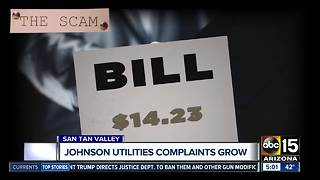 Johnson Utilities complaints grow - Video
