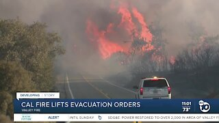 Cal Fire lifts evacuation orders