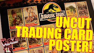 Jurassic Park Limited Edition Uncut Card Sheet Poster