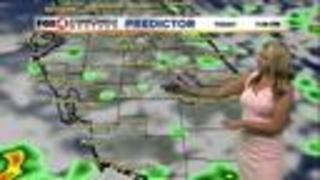 Showers & Storms Continue - Video