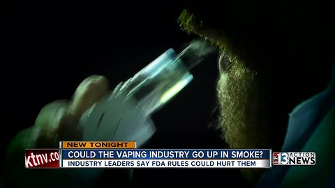FDA lays out plan to slow teen e-cigarette use, Las Vegas vape producers concerned
