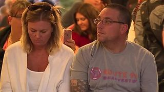 Vigils held after LVMPD's National Night Out events canceled - Video