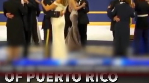 Soldier Dances With First Lady, Crowd Loves It