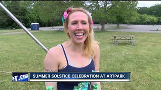 Summer Solstice celebration at Artpark - Video