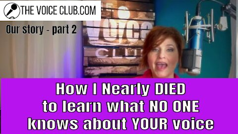 PT 2: How a near death situation ruined my voice & how I got it back with zero medical help