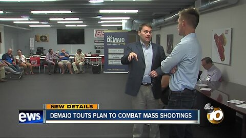 Carl Demaio touts 5-point plan to combat mass shootings