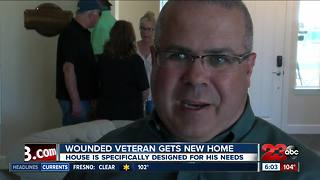 Wounded veteran gets new smart home