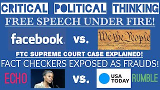 FREE SPEECH UNDER FIRE! Facebook Vs. The Constitution & Candace Owens Takes On Fake Fact Checkers