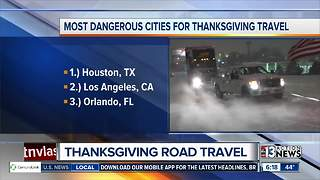 Thanksgiving road travel - Video
