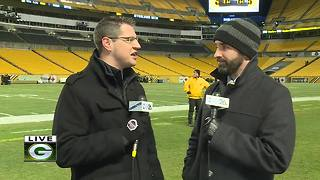 Steelers, Brown hold off Packers 31-28 - Video