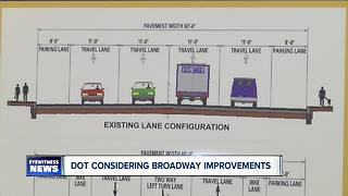 DOT considering Broadway improvements - Video