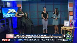 My Salon Suite offering Back-to-School hair cuts - Video