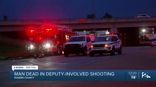 Man dead in deputy-involved shooting