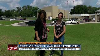 Brave Hernando teen stops possible school shooting by alerting authorities - Video