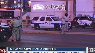 New Year's Eve arrest statistics in Las Vegas - Video