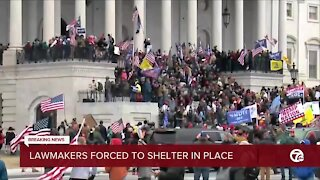 'I'm safe.' Michigan lawmakers react to violent demonstration at U.S. Capitol