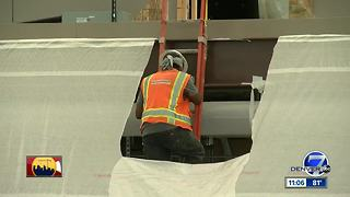 Construction gets underway at DIA for its major renovation project