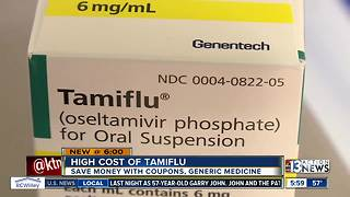 Flu patients worried about high cost of Tamiflu - Video