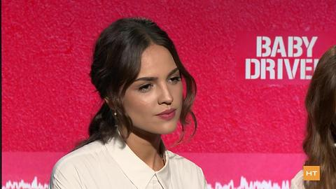 Lily James, Eiza González on starring in 'Baby Driver' | Hot Topics
