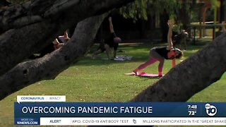 Experts offer tips on overcoming pandemic fatigue