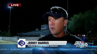Jerry Harris speaks on Pusch Ridge football - Video
