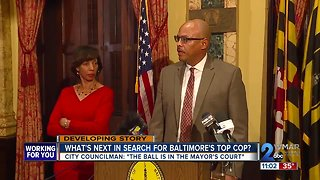 What's next in search for Baltimore Police Commissioner? - Video