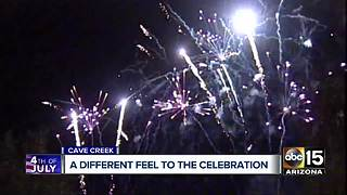 Cave Creek businesses feeling impact of canceled fireworks - Video
