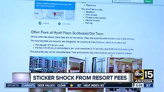 Sticker shock from resort fees - Video
