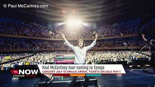 Paul McCartney coming to Amalie Arena in July