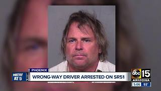 Another wrong-way driver arrested in the Valley - Video