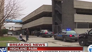 Woman's body found in Highland Park parking garage - Video