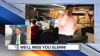 Saying goodbye to Executive Producer Glenn Bar