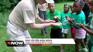 Cuyahoga Valley National Park offers free summer camp experience for kids - Video