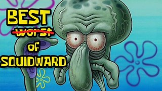 Best of Squidward Tentacles from Spongebob Squarepants - Top 8 Relatable Moments - Video