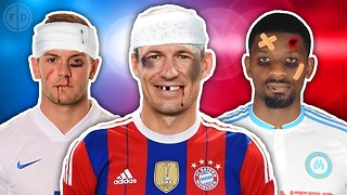 Most Injury Prone XI | Sturridge, Robben, Diaby! - Video