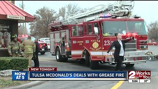 Midtown McDonald's closed due to grease fire