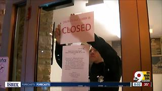 Cincinnati Police District Five closes its lobby to the public - Video