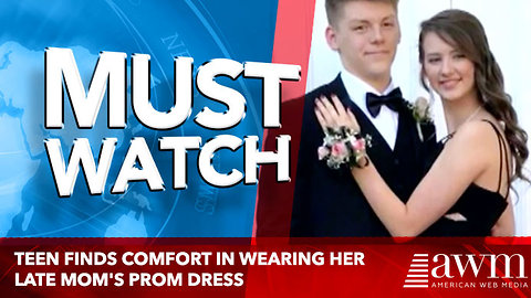 Teen Finds Comfort in Wearing Her Late Mom's Prom Dress to Her Own Prom