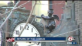 Cherub shows up for 70th year in downtown Indianapolis