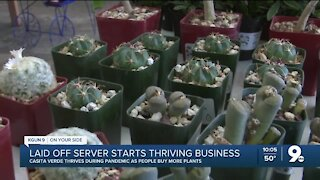 From laid-off server to business owner in six months
