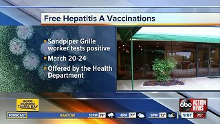 Hillsborough County offers free Hep A vaccinations
