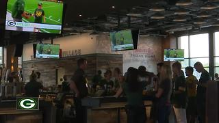 Fans flock to new Johnsonville Tailgate Village outside Lambeau Field - Video