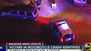Glendale PD: Man, woman die in motorcycle crash - Video