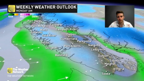 Chilly temperatures by April standards, details here Vancouver Island