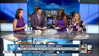 It's National Banana Split Day - Video
