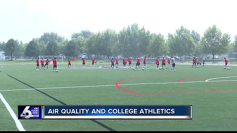 Air quality affects Treasure Valley college athletes